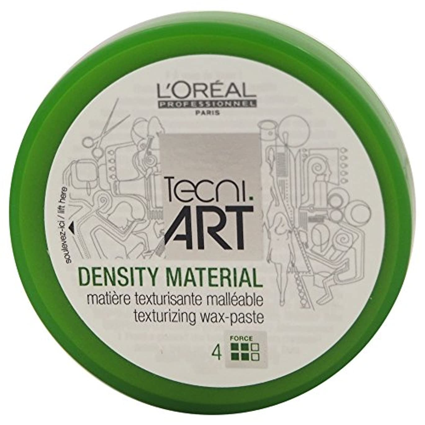 バルブヒゲクジラ失望Loreal Tecni Art Density Material Force 4 Texturizing Wax Paste 100ml [並行輸入品]