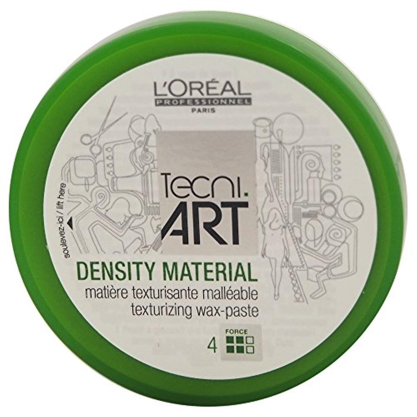 セラーアンデス山脈フェザーLoreal Tecni Art Density Material Force 4 Texturizing Wax Paste 100ml [並行輸入品]