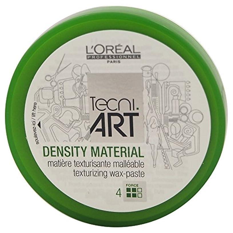 頑張る若者自動化Loreal Tecni Art Density Material Force 4 Texturizing Wax Paste 100ml [並行輸入品]