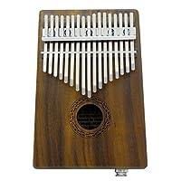 Prettyia アフリカ楽器 EQ17 カリンバ 親指ピアノ フィンガーパーカッション