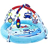 Baby Play Mat, Activity Gym, Educational Toy, Soft Toy, Newborn Baby Play Mat, Colourful Infants & Toddlers Crawling mat, (88