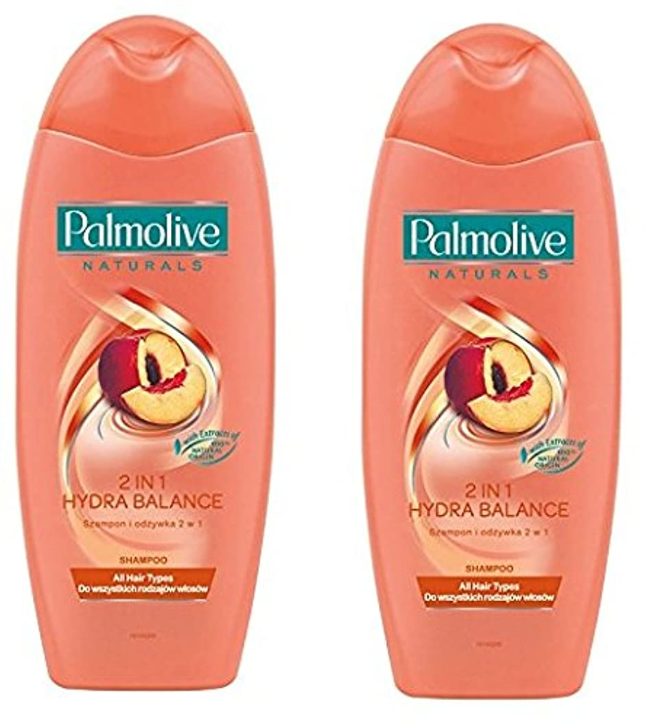 シーサイド性的ファーザーファージュPalmolive Naturals Shampoo & Conditioner パルモティブシャンプーWコンディショナー ハイドロバランス 350ml 2個 [並行輸入品]