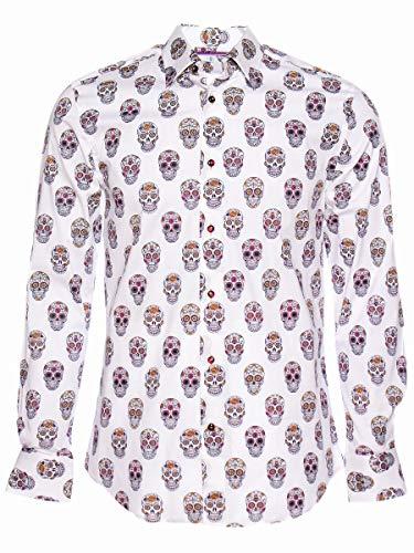 (コトンドゥ) CotonDoux シャツ 柄シャツ メンズ 長袖 オシャレ フランス ブランド m91ad1690-39