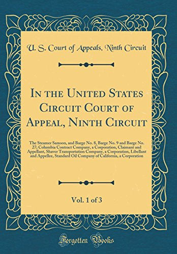 In the United States Circuit Court of Appeal, Nint...