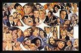 フレーム付きRock and Roll ( 46クラシックRockers ) by Clement Micarelli 26?x 24アートプリントポスターブルース・スプリングスティーン、ZZトップ、ボブ・ディラン、ジョージ・ハリソン( The Beatles )、ジョン・レノン( The Beatles )リンゴ・スター( The Beatles )、ポール・マッカートニー( The Beatles、Pete Townshend、Mariah Carey、ジム・モリソン、チャック・ベリー、エルヴィス・プレスリー、Rod Stewart , Dianna Ross、Ray Charles , David Bowie、ジェームズ・ブラウン、B。B。キング、Billy Joel、ポール・サイモン、ボブ・マーリー、ロジャーDaltry、フィル・コリンズ、Crosby Still &ナッシュ、エリック・クラプトン、ジョージ・マイケル、マドンナ、マーク・ノップラー、アクセルローズ、Aretha Franklin , Bonnie Rait、Ting、ボノ、・エルトン・ジョン、ジミ・ヘンドリックス、マイケル・ジャクソン、Mick Jagger、ブライアン・アダムス、ニール・ヤング、Bob Seger、スティーヴン・タイラー、トムPetty、Tina Turner、Freddy Mecury、Don Henley Janis Joplin