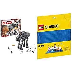 レゴ(LEGO) スター・ウォーズ ファースト・オーダー ヘビー・アサルト・ウォーカー™ 75189 & クラシック 基礎板(ブルー) 10714