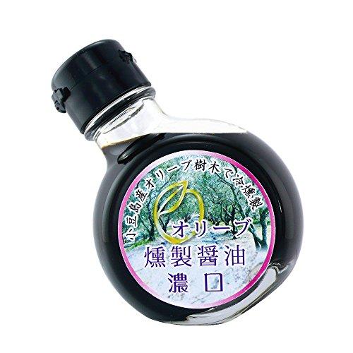 小豆島ヤマイチ オリーブ燻製しょうゆ 濃口 100ml