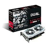 ASUSTek AMD Radeon RX 460搭載ビデオカード オーバークロック メモリ2GB DUAL-RX460-O2G