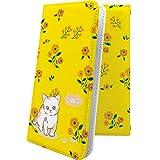 REGZA Phone T-01D ケース 手帳型 子猫 ねこ 猫 猫柄 にゃー レグザフォン レグザ ケース 手帳型ケース 花柄 花 フラワー T01D REGZAPhone ケース 女の子 女子 女性 レディース