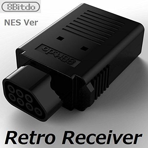 8Bitdo Retro Receiver(NES Version) 北米版ファミコン本体でワイヤレスコントローラーが使える [CXD1408] [並行輸入品]