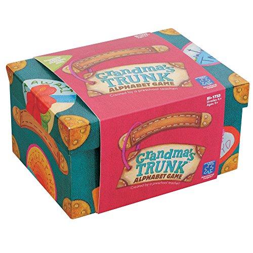 Grandma's Trunk Alphabet Game 英語玩具 カードゲーム アルファベットゲーム おばあちゃんのトランク