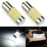 JDM ASTAR 1200 Lumens Extremely Bright 144-EX Chipsets 1156 1141 1073 7506 LED Bulbs with Projector For Backup Reverse Lights Xenon White [並行輸入品]