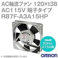 オムロン(OMRON) R87F-A3A15HP AC軸流ファン 115V (120×t38 端子タイプ) (回転数 50Hz 2750回) NN
