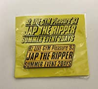 B'z LIVE GYM Pleasure'93 JAP THE RIPPER ピンバッチ