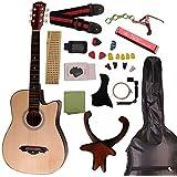 ( Band) アコースティック ギター初心者の民謡ギターが気軽に入門練習をする 16点セット 9色