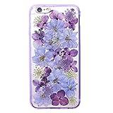 押し花 flower フラワー iPhone6/6s TPU ケース 存在感抜群 カバー アイフォン6/6s対応