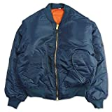 (ロスコ) ROTHCO/MA-1 Flight Jacket【XXS-XL】フライト ジャケット コート (M, ネイビー) [並行輸入品]