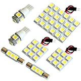 【断トツ222発!!】 BS9 レガシィ アウトバック LED ルームランプ 8点セット [H26.10~] スバル 基板タイプ 圧倒的な発光数 3chip SMD LED 仕様 室内灯 カー用品 HJO