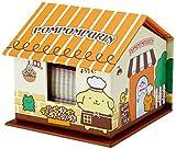 ポムポムプリン ハウス形ケース入りメモ&付箋