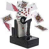 「♣zqion」ポーカーを噴射 舞台カードのマジック道具(バッテリー持参) 手品道具