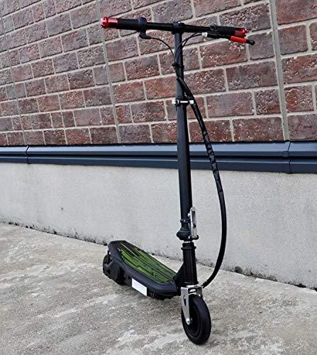 Toxozers 電動 折りたたみ キックボード スクーター 120 ワット キーズ と アダルト スタンド キック バイク ブルー