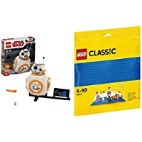 レゴ(LEGO) スター・ウォーズ BB-8™ 75187 & クラシック 基礎板(ブルー) 10714
