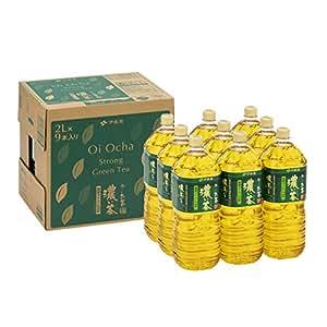 【Amazon.co.jp限定】 [旧品番] 伊藤園 RROボックス おーいお茶 濃い茶 2L ×9本