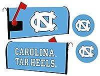 UNC North Carolina Tar Heels磁気メールボックスカバー&ステッカーセット