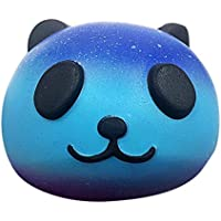 makeupstore Kawaii Slow RisingパンダSquishy Baby Handおもちゃ、Starryかわいい10 cmパンダベビークリーム香りつきSquishy Slow Rising Squeeze Kids Toy for Kidsギフト