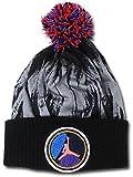 (Jordan)ジョーダン キッズ/ジュニア Air Jordan VIII ニット帽 (ダークグレイ黒) [並行輸入品]