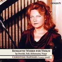 Romantic Works for Violin by Dvorak (2011-01-25)