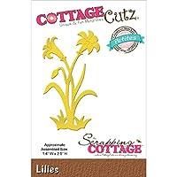 CottageCutz Lilies Petites Die by CottageCutz