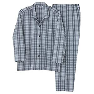 [グンゼ] パジャマ 肩ももW保温 長袖長パンツ ソフトキルト/発熱ニットガーゼ SG4078 メンズ Newグレー 日本 M (日本サイズM相当)