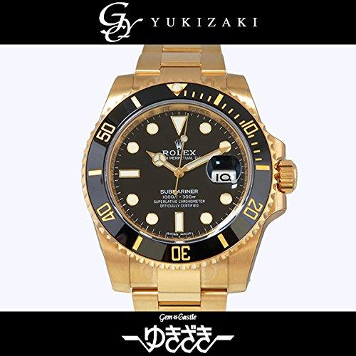 ロレックス サブマリーナ 116618LN ブラック メンズ 腕時計 [並行輸入品]