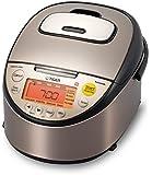 【海外向け】 TIGER IH炊飯器 W銅5層遠赤特厚釜 [JKT-S10W] 1.0L 220V仕様