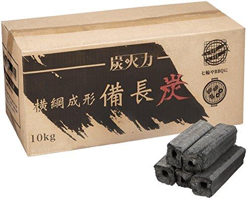 炭火力(すみびりき) 横綱成型 備長炭 10Kg SBR-10
