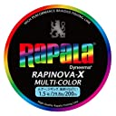 ラパラ(Rapala) PEライン ラピノヴァX マルチカラー 200m 1.5号 29.8lb マルチカラー RXC200M15MC
