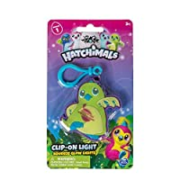 Spin Master Hatchimals Clip On Squeeze Glow Light 2.75 inches - Green [並行輸入品]