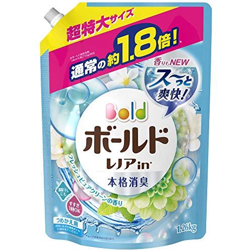 ボールド 香りのサプリインジェル プラチナピュアクリーン 超特大サイズ 詰替 1.26kg
