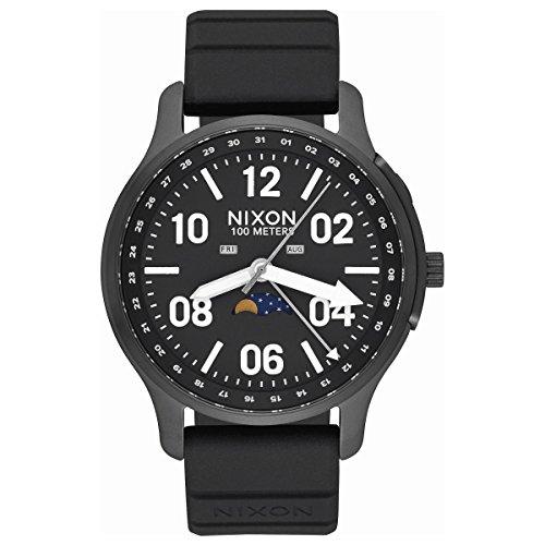 [ニクソン]NIXON アセンダー スポーツ ASCENDER SPORT 腕時計 メンズ レディース BLACK/LUM NA12092474-00 [正規輸入品]