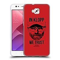 オフィシャル Liverpool Football Club フルフェイス・レッド Jurgen Klopp イラストレーション Zenfone 4 Selfie ZD553KL 専用ソフトジェルケース