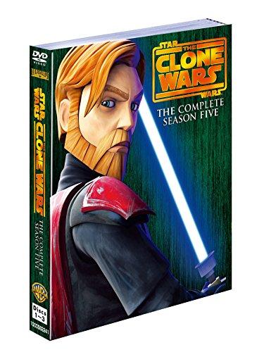 『スター・ウォーズ:クローン・ウォーズ 〈フィフス・シーズン〉 コンプリート・セット (3枚組) [DVD]』のトップ画像