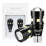 AGLINT T15 T16 LED バックランプ 爆光 高輝度 無極性12V 24V兼用 キャンセラー内蔵 CANBUS 9連3030SMD W16W 921 912 LED バックアップ 6000K ホワイト車検対応 1年保証 2個入り