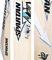 Spartan, Cricket, Grade 1 Pro English Willow Cricket Bat, Blue, Short Handle