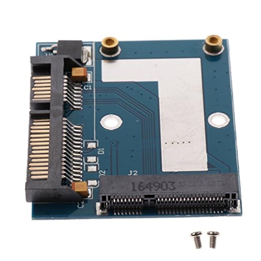 絶滅させるリーチアソシエイトDolity アクセサリー 部品  5cm SSD MSATA→2.5インチ SATA ハーフ ハイト アダプター 変換カード モジュール ボード