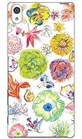 SECOND SKIN さとう ゆい 「pastel flower」 / for Xperia Z5 Premium SO-03H/docomo  DSO03H-ABWH-193-K603