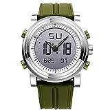 「ビンズ」BINZI スポーツウォッチ メンズ腕時計 デジタル ファッション アウトドア スポーツギア 多機能 防水 LED クロノグラフ 日付曜日表示 BZ-9368SN メンズ