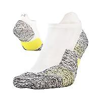 Under Armour Adult Run Cushion No Show Tab Socks, 1-Pair