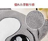 haplife マウスパッド USB加熱タイプ 手を防寒対策 冷え性に対応 省エネ 省電力 ホットマウスパッド USBハンドウォーマー 防寒グッズ 加熱パッドマウス 可愛い おしゃれ (グレー) 画像