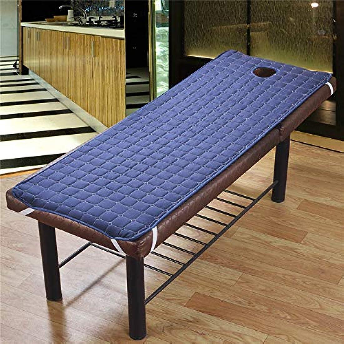 消費する感動する言い直すTenflyer 美容院のマッサージ療法のベッドのための滑り止めのSoliod色の長方形のマットレス